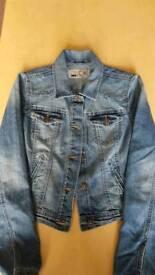 Ladies denim Jacket short fit
