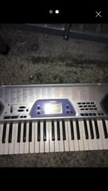 Casio full size electric keyboard CTK-481