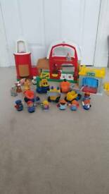 Bundle of fisher price little people