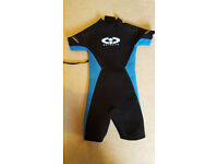 Kids' Titanium CIC WETSUIT for children aged 7-9 (see measurements below); very good condition