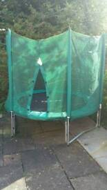 8ft trampoline hardly used