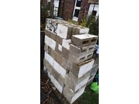Breeze blocks. Free to collect