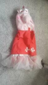 Peppa Pig fancy dress Age 4-5 (but will fit 3-4)