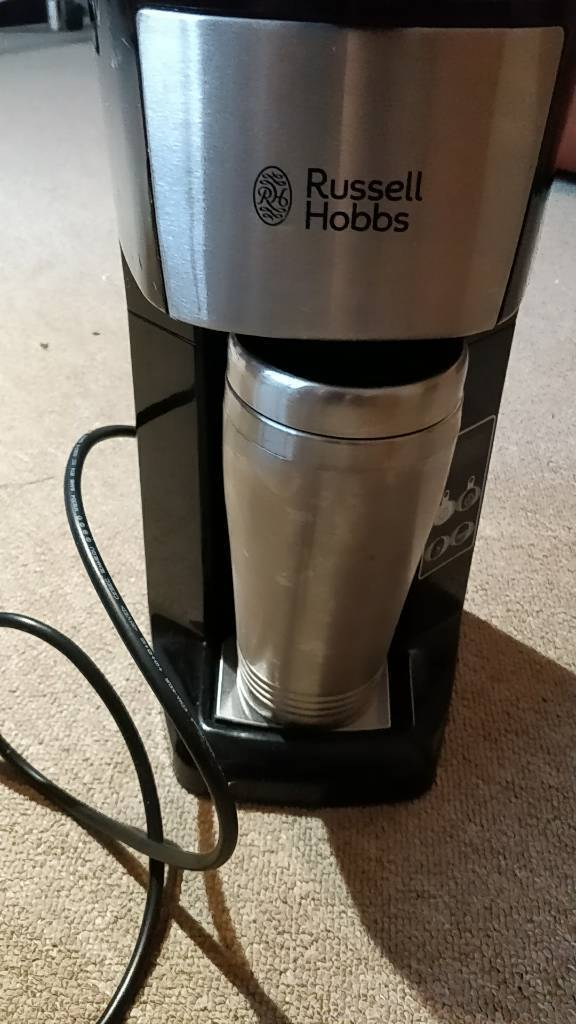 Russell hobbs brew and go coffee maker