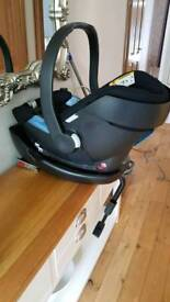 Cybex Aton Baby Car Seat Plus Isofix Base