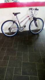 "Silver Salcano Mountaineer Mountain Bike, 26"" Wheels, 18 Speed, 18"" Frame"