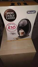 Delonghi dolce gustom coffee hot drink machine