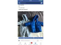 Baby boy snowsuit and jacket