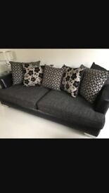 4 seater sofa for sale as good as new and from a smoke free home. Collection only