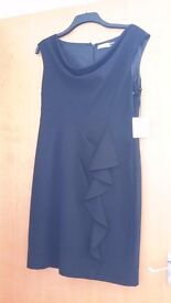 Calvin Klein black dress new size 12