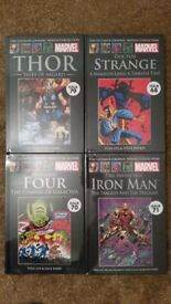 Marvel comics graphic novels (sealed in mint condition)