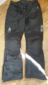 Ritcha size large motorcycle trousers