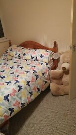 Double bed and brand new mattress