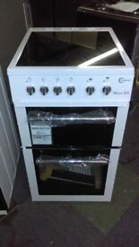 FLAVEL MLB5CDW Electric Ceramic Cooker - White ex display