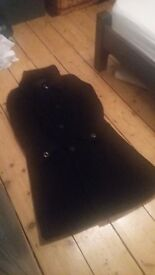Hobbs Black Wool Coat Size 14