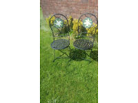 2 Florence Outdoor/Indoor Bistro Chairs *NEW*