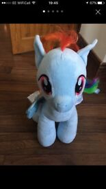 My little pony build a bear (rainbow dash)