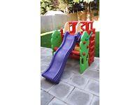 Kids Garden Climbing frame and Slide.