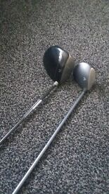 lefthanded callaway driver and callaway 3 wood