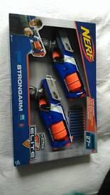 Nerf elite strongarm twinpack