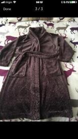 Xmas present..M &S fleece dressing gown