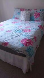 2 x double beds inc mattresses