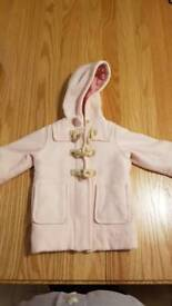 RALPH LAUREN BABY GIRLS DUFFEL COAT
