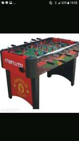 Manchester United fooseball table