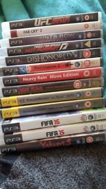 Ps3 game bundle Collection Leicester
