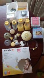 Medela Electric breast pump with calma