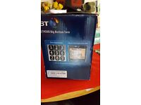 BT 4500 Cordless Big Button Phone with Answer Machine and Nuisance Call Blocker with 2 handsets