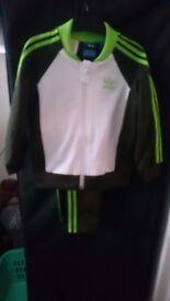 For Sale !! Adidas Boyz Full Tracksuit