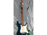 Stagg electric guitar including cover & Stagg amplifier all in great condition