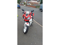 Daelim Roadsport 125 not cbr