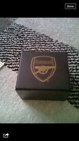 Gold Arsenal watch