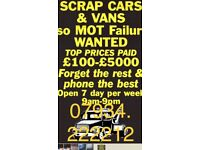 Buyingggggg. All scrap vehicles.