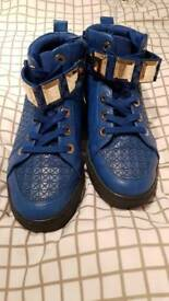 Blue Aldo High Tops Size 6