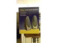 """""""PC Line"""" Multimedia Speakers"""