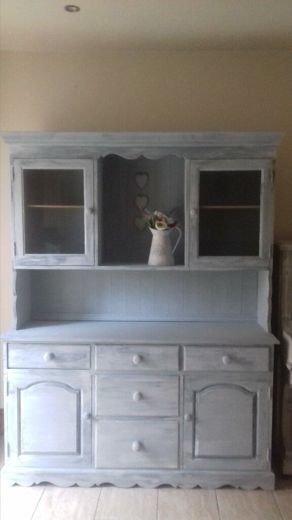 Gorgeous Shabby Chic Solid Wood Dresser