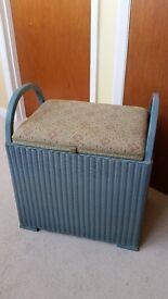 Genuine Lloyd Loom Linen Basket