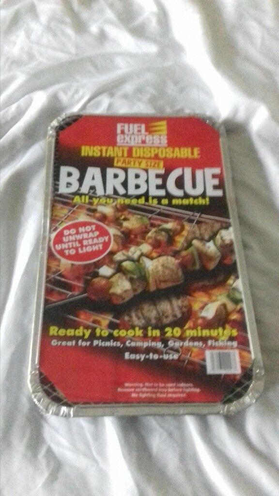 disposable BBQ large