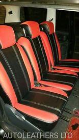 MINICAB CAR LEATHER SEAT COVERS TOYOTA PRIUS VOLKSWAGEN PASSAT TOYOTA AVENSIS HONDA INSIGHT