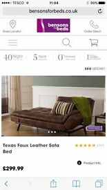 Brand new Texas sofa bed