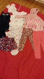 Bundle baby girl clothes 18-24 months