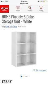 6 cube storage unit