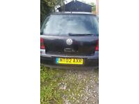 Vw golf gt tdi 2002 chipped 180bhp