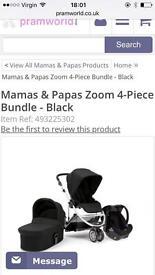 Mamas & Papas Zoom 4-piece bundle