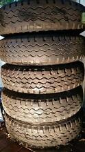 DUNLOP SP ROAD GRIPPER 7.50R16 LT USED TYRES and RIMS SET Gordon Ku-ring-gai Area Preview