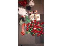 christmas decorations for cheap (Be ready from now) £50 or closest offer