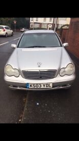 Silver Mercedes Benz for SALE